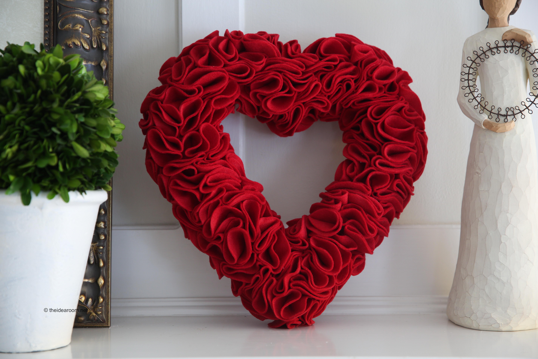 Valentine S Day Wreath The Idea Room