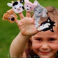 Felt Finger Puppets Tutorial