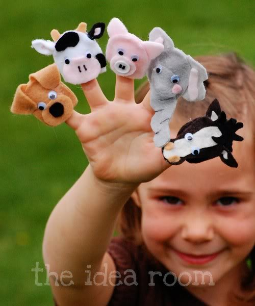 How To Make Dog Finger Puppets