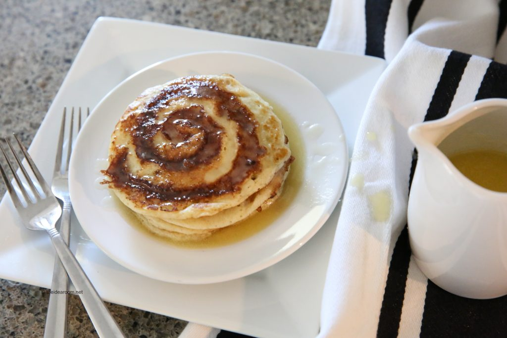 pancake recipes cinnamon roll pancakes