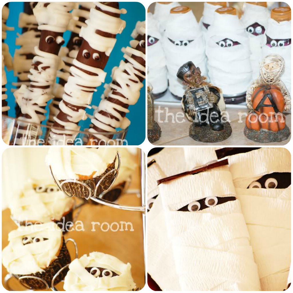 Halloween Themed Birthday Party Food Ideas.Halloween Snacks And Treats