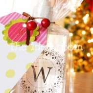 Monogrammed Soap–Teacher gift