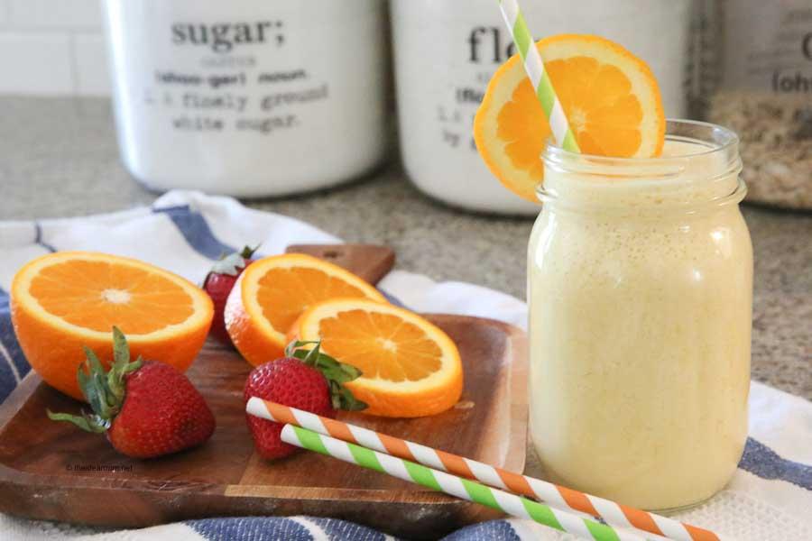 drink recipe for summer orange julius