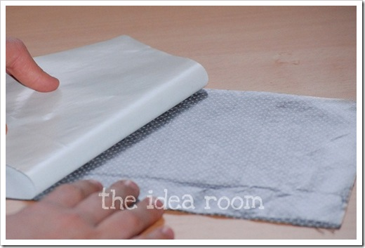 monogrammed towel 3wm