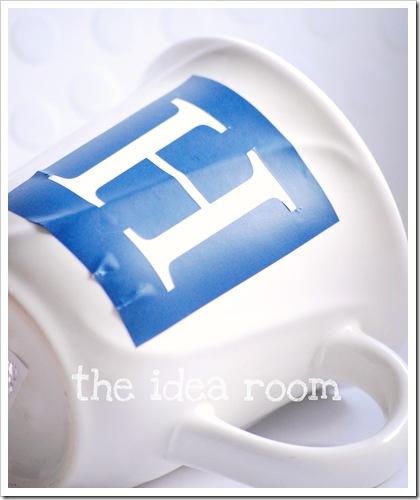 monogram mug 3