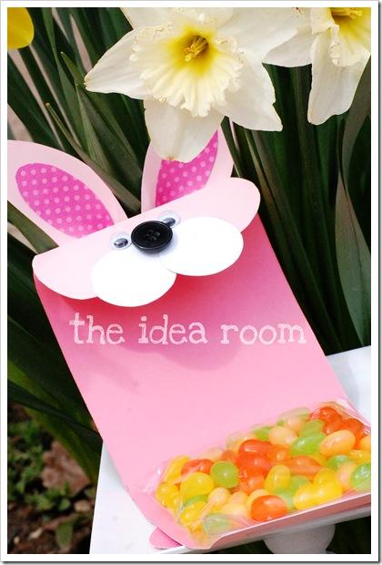 bunny gift bag jellybeans