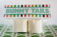 Bunny Tails Easter Favors with Guests Eighteen25