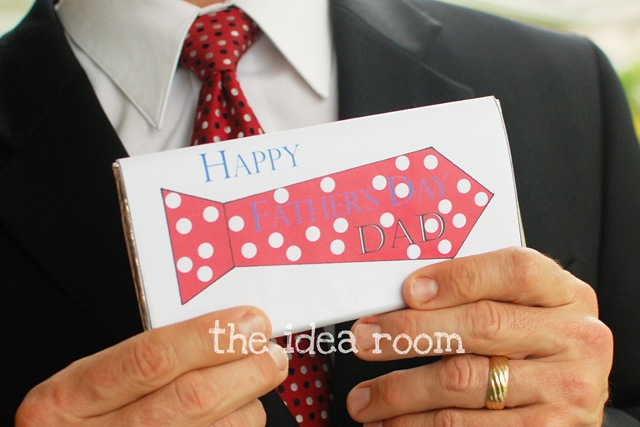 Father's Day Candy Bar Wrapper Printables