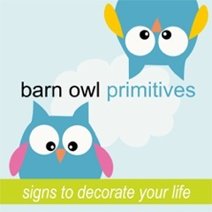 Second Barn Owl Primitives Giveaway winner!