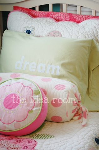 Silhouette Heat Transfer Project—Dream Pillow