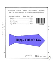 fathers day candy bar wrapper copy