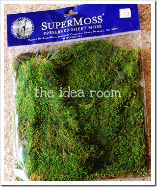 spring sign moss
