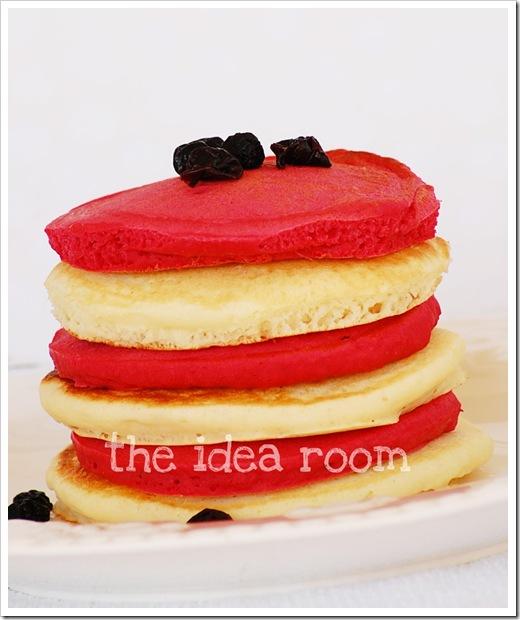 red white blue pancakes