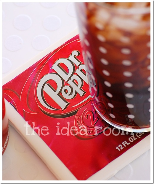 recycling soda can: diy soda can coasters