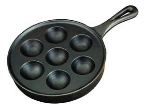 Cast Iron Aebleskiver Apple Cake Pan Recipe