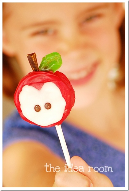 food gifts: back to school—apple pops tutorial