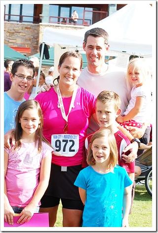 half marathon family