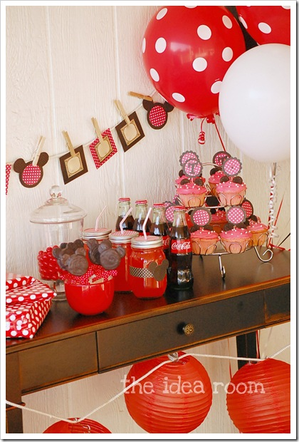 Minnie Mouse Party 7 wm