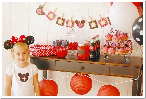 Minnie Mouse Party 9 wm