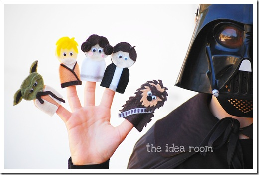 Star Wars Finger Puppets 4 wm