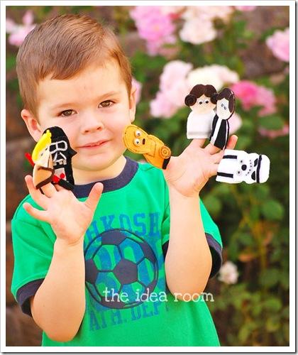 Star Wars Finger Puppets J wm