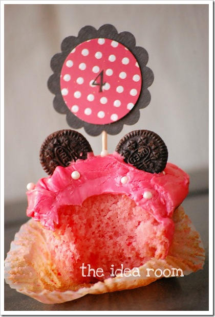 minnie mouse cupcakewm