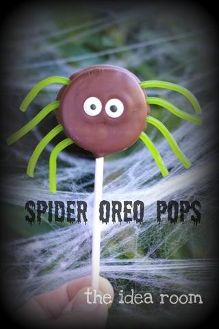 Halloween Oreos—Spiders