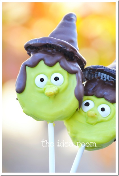 Witch Oreo Pops by The Idea Room