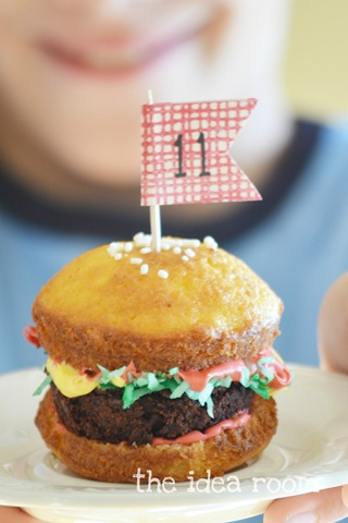 Hamburger Cupcakes