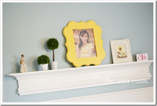 shaped picture frame wm