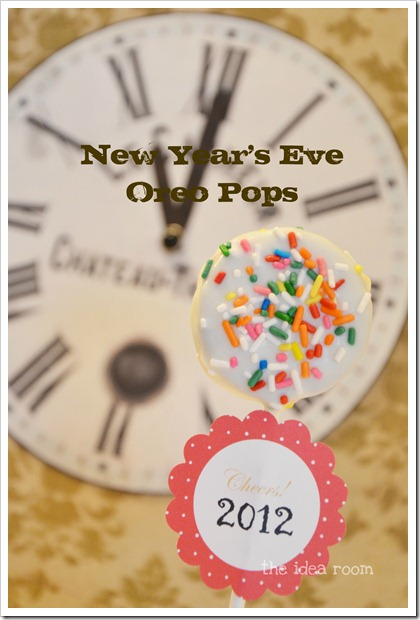 New Years Eve Oreo Pops 2a