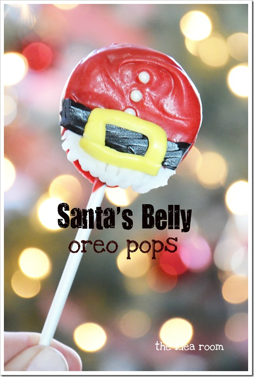 Santa's Belly Oreo Pops 2wm