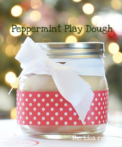 How To Make Play Dough—Peppermint