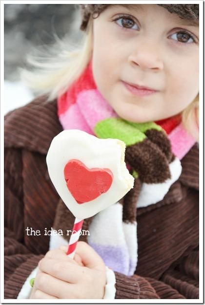 Valentine cookie pops 4wm
