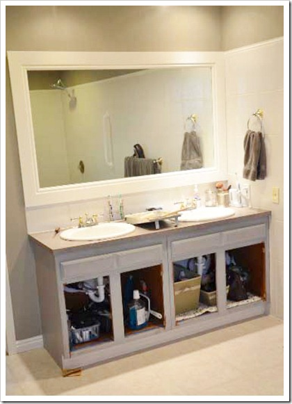 Bathroom Cabinets Painting Ideas how to paint my bathroom cabinets black | nrtradiant