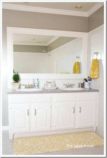 Updating Builder Grade Bathroom Cabinets The Idea Room