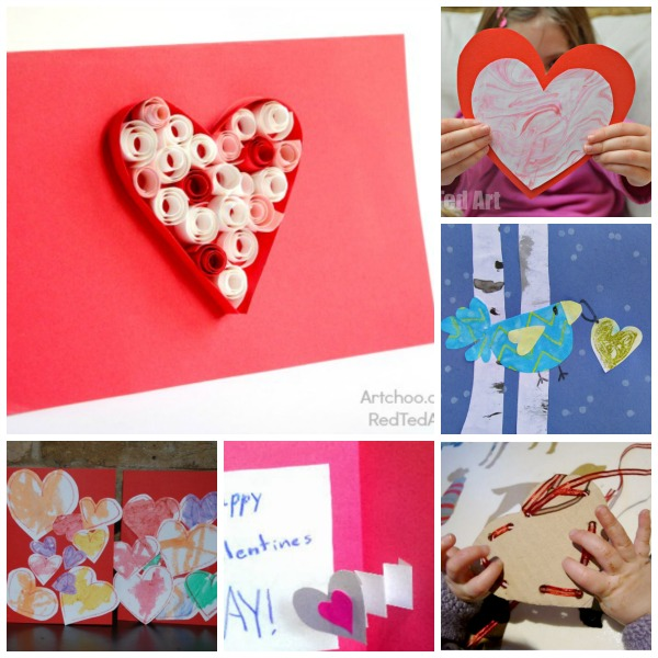Valentines Day Crafts- Candy Rings