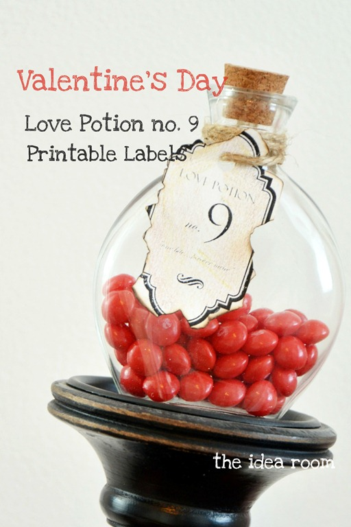 Love Potion no. 9 Labels