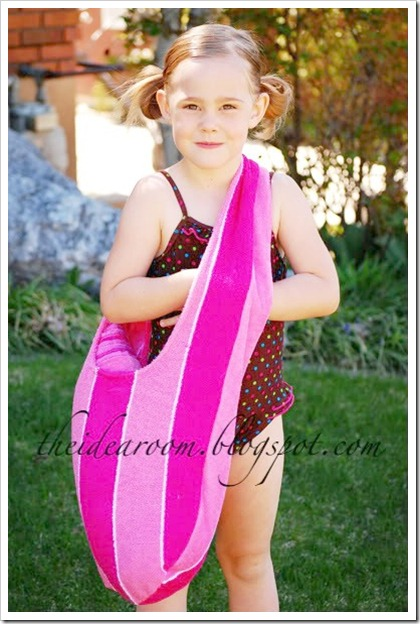 DIY Swim Bag and Matching Towel