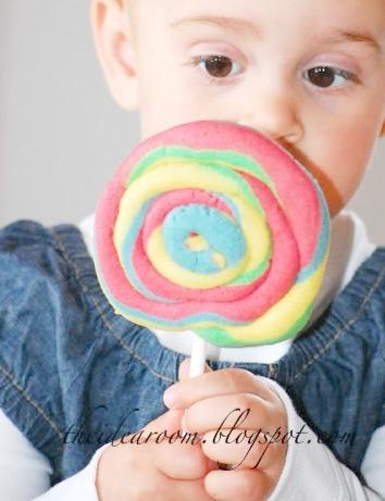 Play Dough Lollipop Cookies - The Idea Room