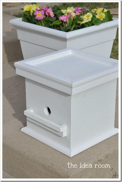 flower box bird house 1wm