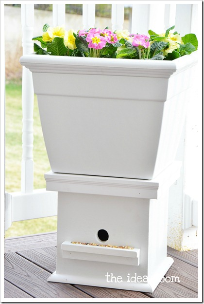 flower box bird house 4wm