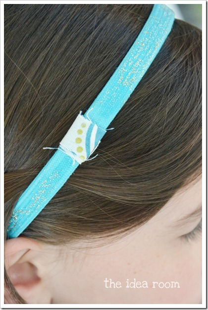flower headband wm