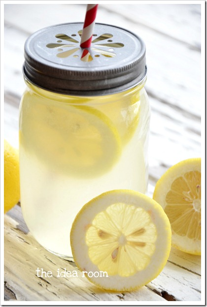 how to make homemade lemonade lemon juice