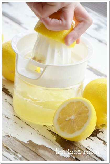 homemade-lemonade recipe