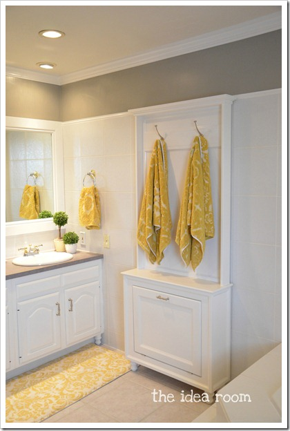 Towel rack tutorial