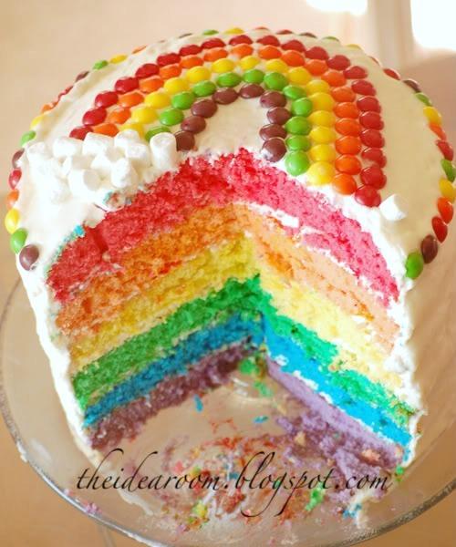 Skittles Birthday Cake Recipe