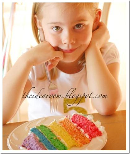 rainbow cake 6wm