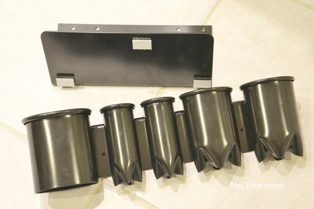 Hair Style Organizer: Hair Tool Storage Cabinet