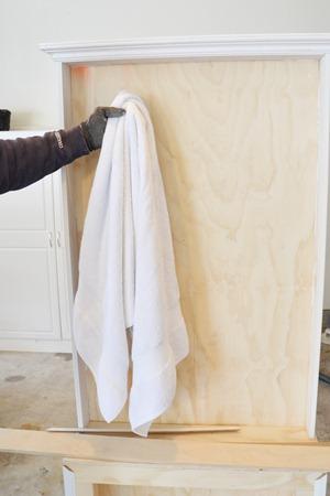 towel rack tutorial 24